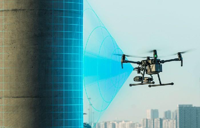 Мониторинг объекта с дрона