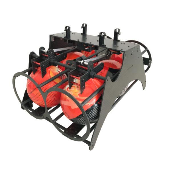 Система сброса шаров для пожаротушения