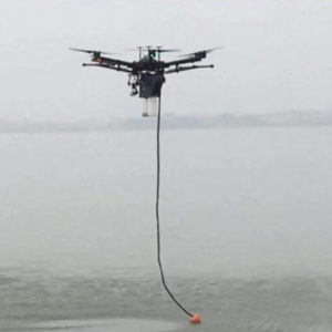 Устройство для отбора проб воды с квадрокоптера